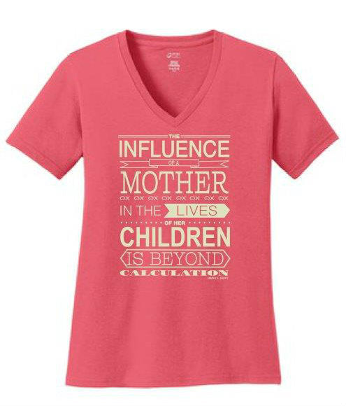 The Influence of a Mother - Pink T-Shirt