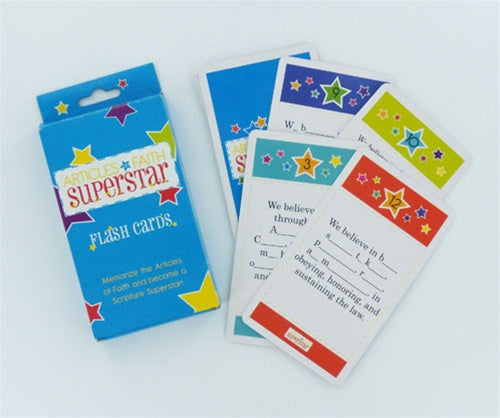 Articles of Faith Superstar Flash Cards - Zions Marketplace