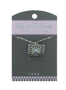 CTR Birthstone Necklaces - June - Zions Marketplace