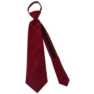 Boys Angel Moroni Red Paisley - Zions Marketplace