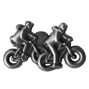 Missionaries on Bikes Silver Pin