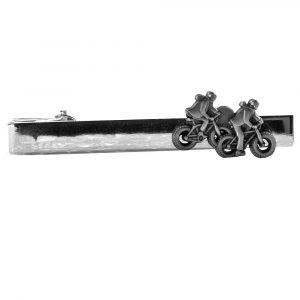 Missionaries on Bikes Silver Tie Bar