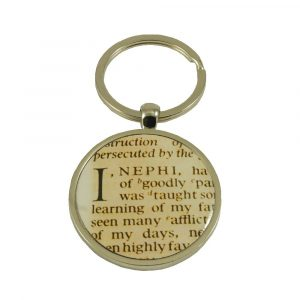 """I, Nephi"" Book of Mormon Scripture Key Ring - Zions Marketplace"