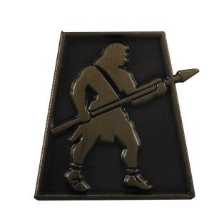 550SWGD Stripling Warrior- antique gold pin - Zions Marketplace