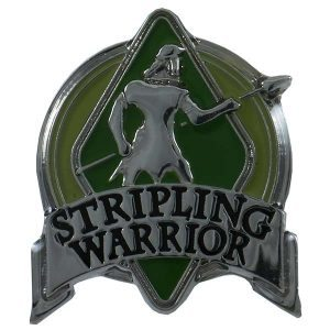 1050SWOL Stripling Warrior Olive Pin - Zions Marketplace