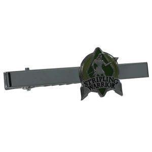 1055SWOL Stripling Warrior Olive Tie Bar - Zions Marketplace