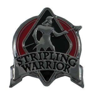 1050SWRD Stripling Warrior Red Pin - Zions Marketplace