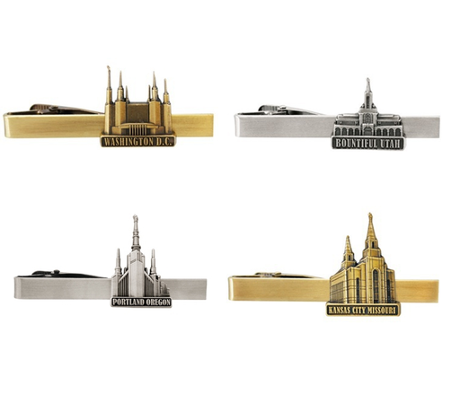 Latter-Day Saint Temple Tie Bars/Clips (Select a Temple) - Zions Marketplace
