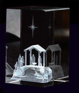 Cube, Nativity Scene - Zions Marketplace