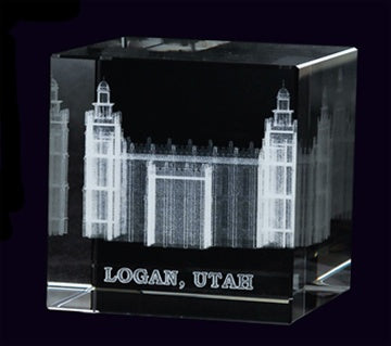 Cube, Logan Temple - Zions Marketplace