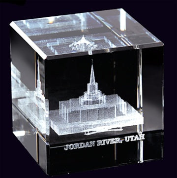 Cube, Jordan River Temple - Zions Marketplace