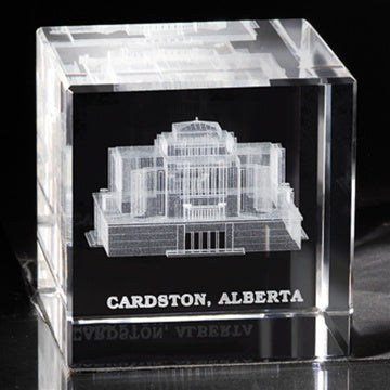 Cube, Cardston Temple - Zions Marketplace