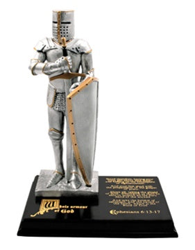 Armour of God Statue - Zions Marketplace