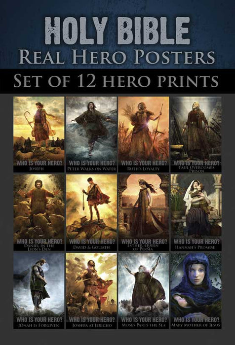 Real Hero  - Whole Bible Set of 12