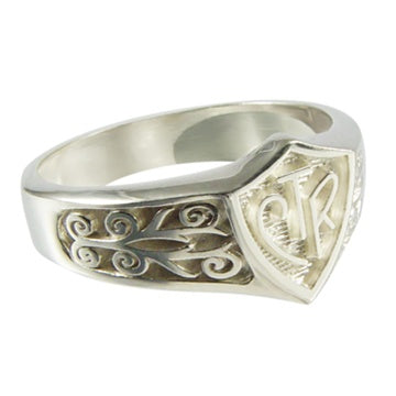 Legacy CTR Ring - Silver - Zions Marketplace