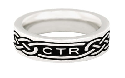 CTR, Celtic Stainless Steel Ring - Zions Marketplace