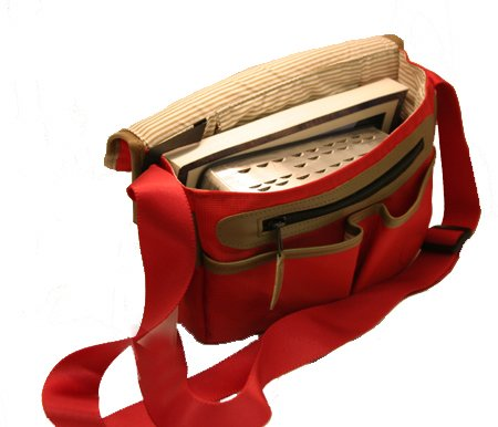 Flap-over Scripture Case (Red) - Zions Marketplace