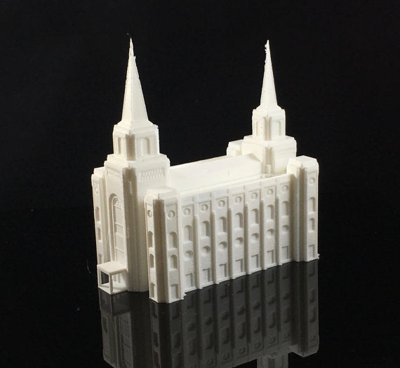 LDS Temples - High Detail (Plastic Print) - Zions Marketplace