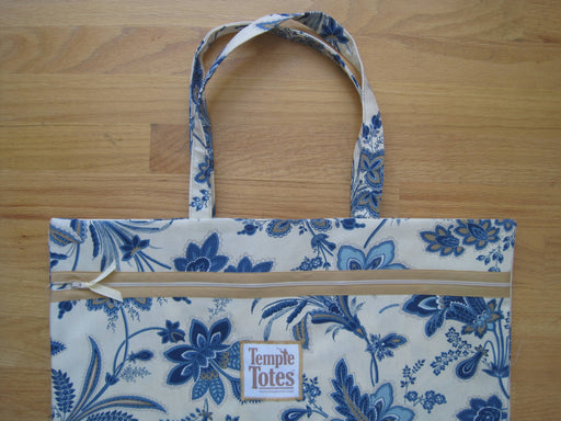 TempleTotes LDS Temple Bag - Jacobean (Tan)