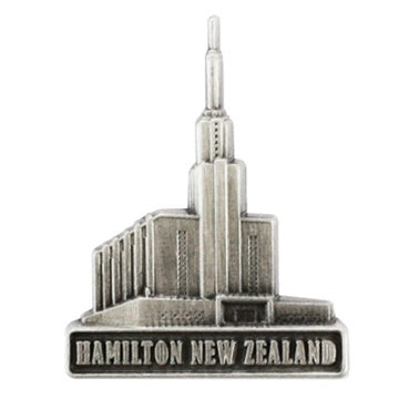 LDS Hamilton New Zealand Temple Pin - Zions Marketplace