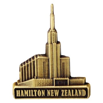 LDS Hamilton New Zealand Temple Pin ttt218 - Zions Marketplace