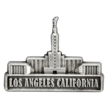 LDS Los Angeles California Temple Pin SLV - Zions Marketplace