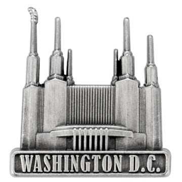 LDS Washington D.C. Temple Pin gold - Zions Marketplace
