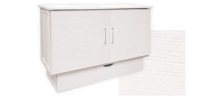Madrid cabinet bed in white closed
