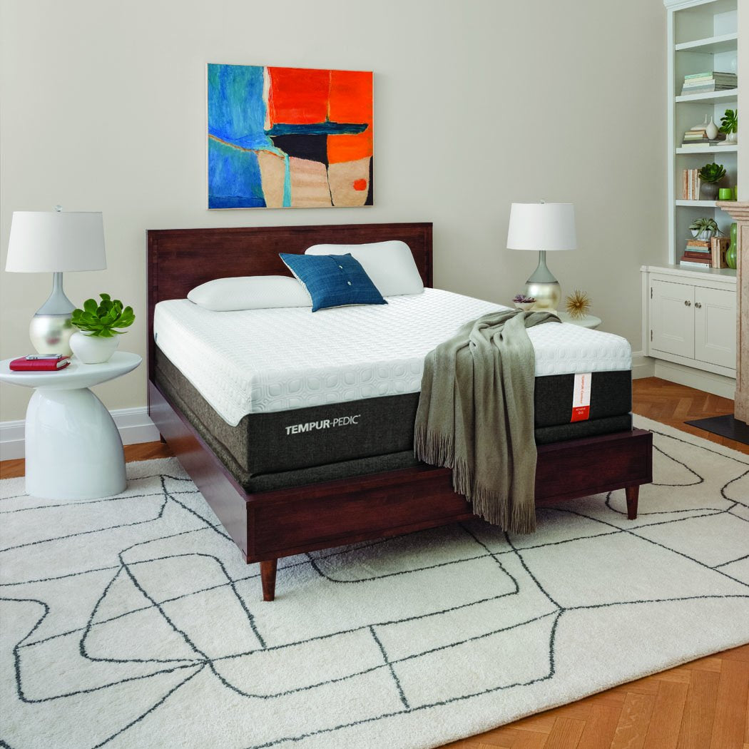 Tempur Pedic Achieve Mattress in Room