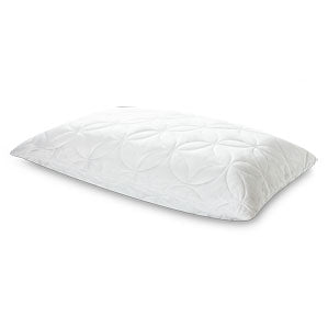 tempur-pedic soft and confroming pillow side view