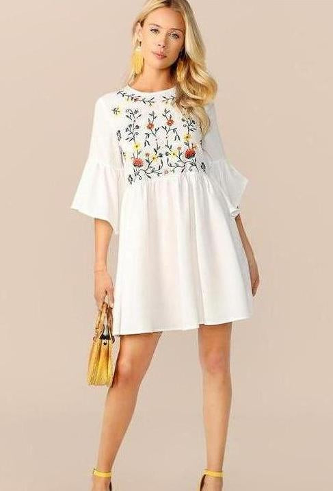 White Ivy Dress