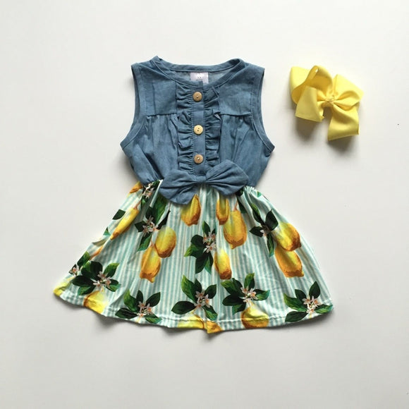 Lucy Lemon Dress