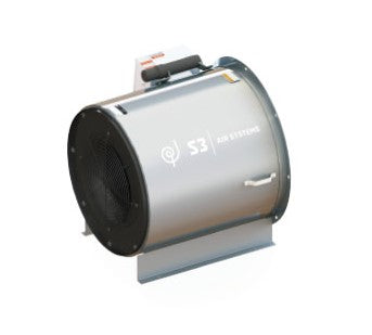 Grain Aeration Inline Centrifugal Fan