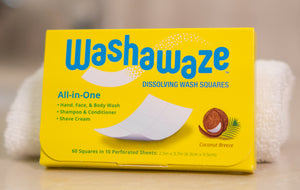 Washawaze All-in-One Dissolving Wash Squares