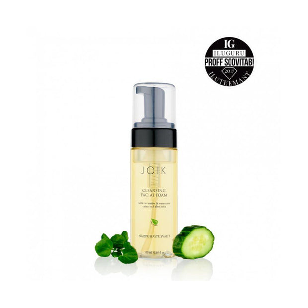 Cleansing Facial Foam with Cucumber & Watercress Extracts