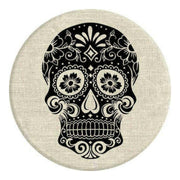 Sugarskull On Linen