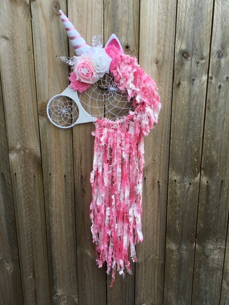 Unicorn Dreamcatcher Pink