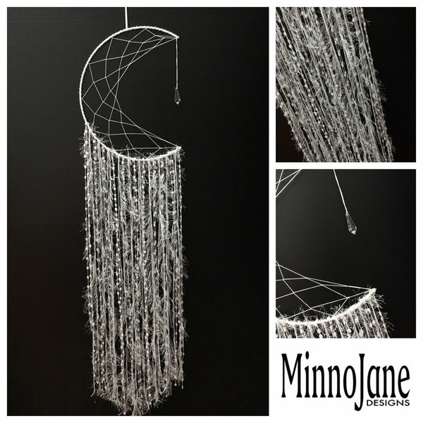 Moon Single Web Dreamcatcher