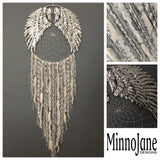 Angel Wing Dreamcatcher Silver