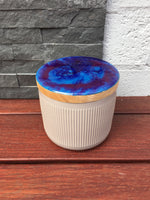 Small Canister ~ Resin Art