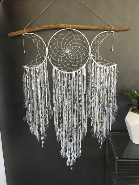 Moon Dreamcatcher Cluster