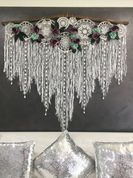 1.3m Floral Doily Cluster