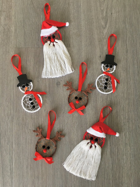 Christmas Tree Decoration Set of 6