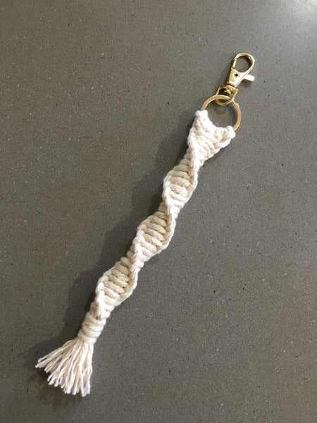 Macrame Key/Luggage Chain