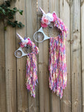 Unicorn Dreamcatcher Rainbow Pastel