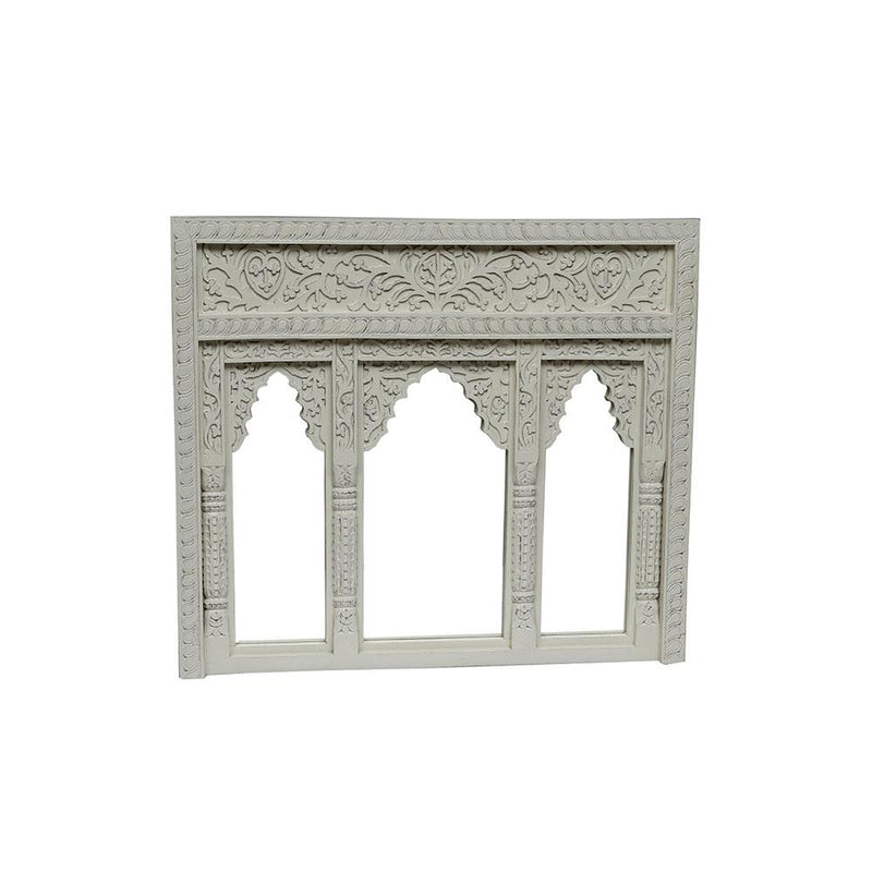 3 Arch Window Frame Mirror