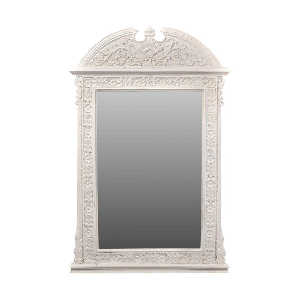 Elegant Hand Carved Mirror