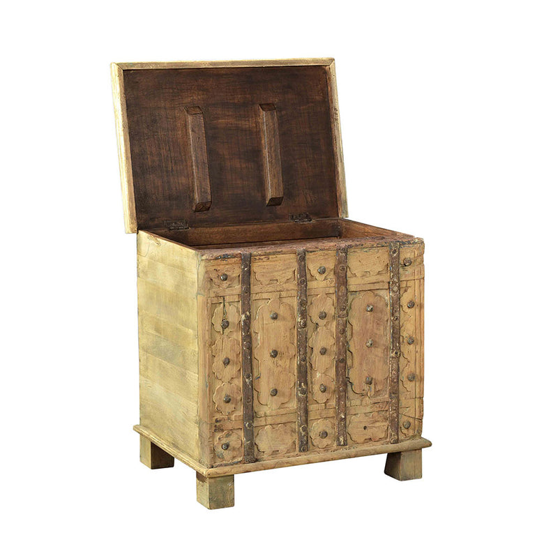 Side table with internal storage