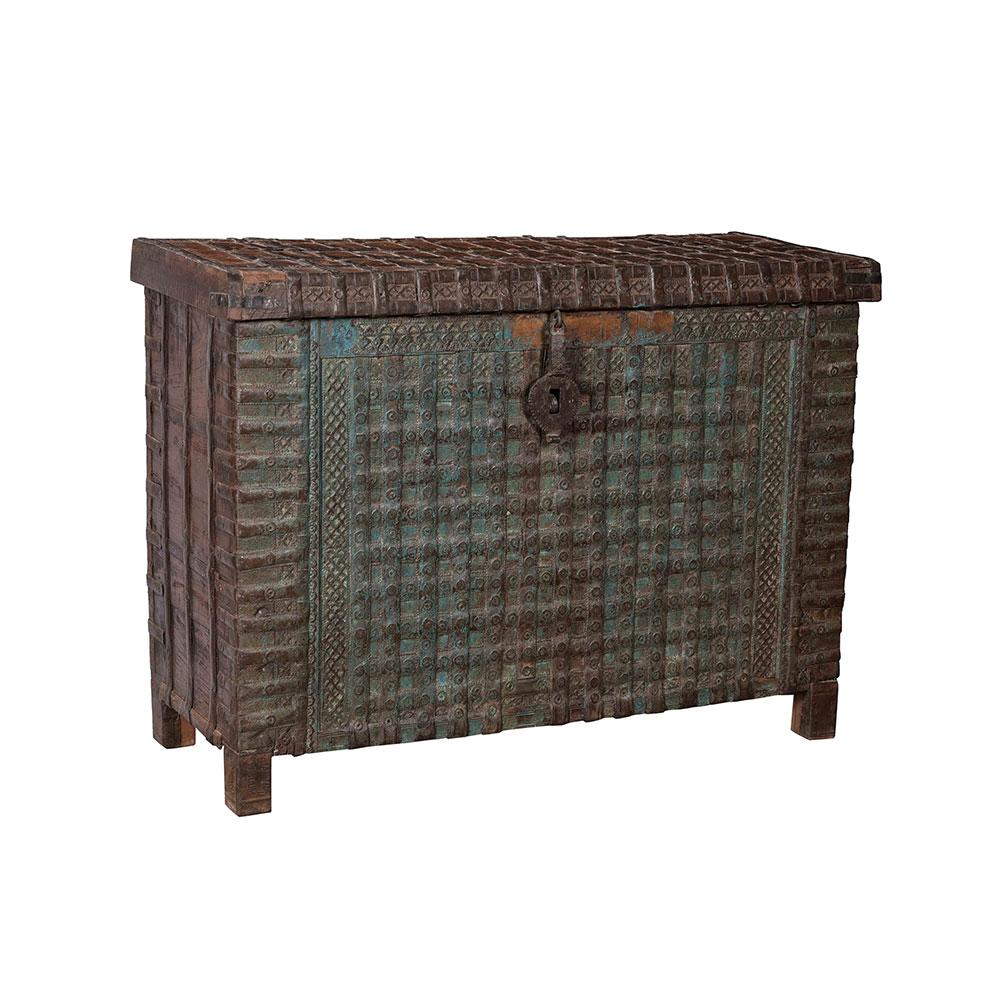 Vintage Indian Chest