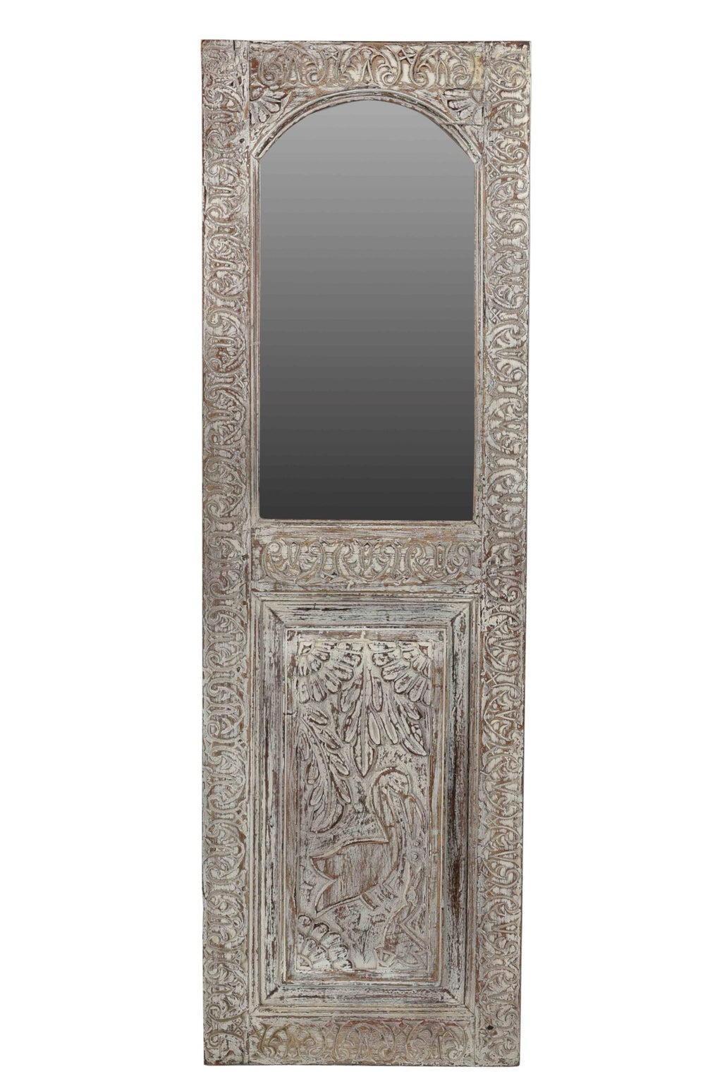 Carved Panel Mirror